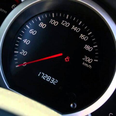 замена датчика скорости