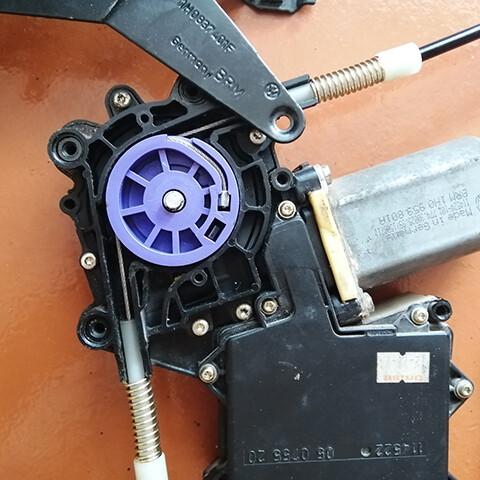 ремонт стеклоподъемника