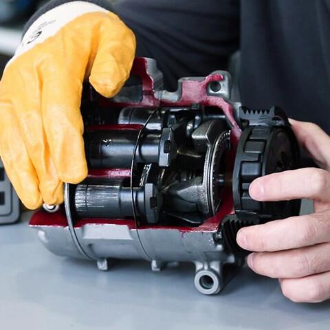 ремонт муфты компрессора автокондиционера
