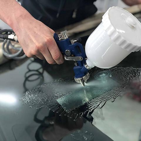 ремонт трещин на стекле