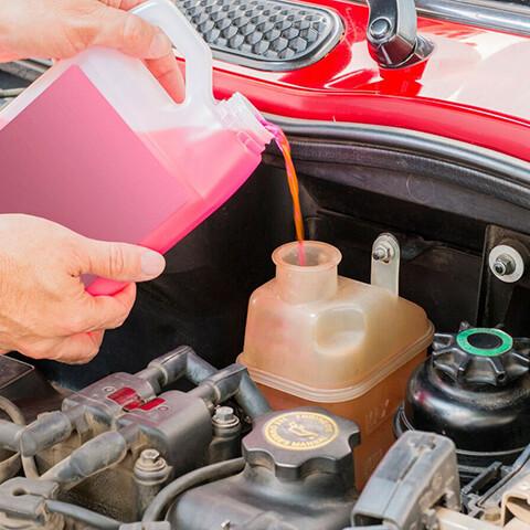 замена жидкостей автомобиля